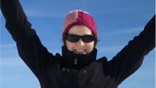 Vanessa : Maphoto vous est dédiée: un voyage 'au sommet'!